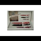 Berghome Line Színes kés készlet 3 részes