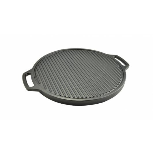 Perfect Home  Öntöttvas grill lap kerek 2 oldalas