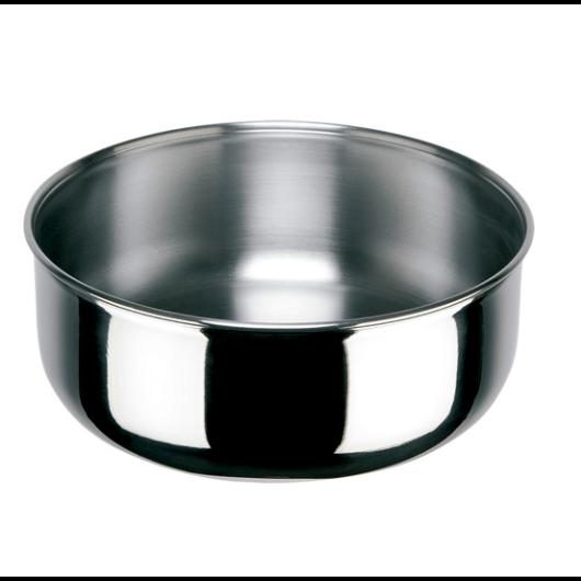 Inoxibar  rozsdamentes edény/serpenyő műanyag zárófedéllel (levehető nyél külön vásárolható) 24 cm, D'Artagnan