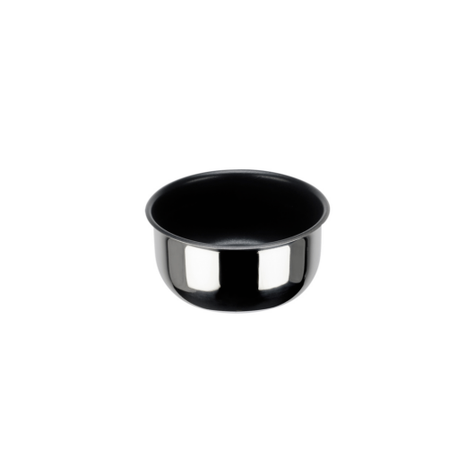 Inoxibar Porthos rozsdamentes lábas  levehető nyéllel műanyag zárható fedővel(külön vásárolható),tapadásmentes bevonattal átmérő: 20 cm, magasság: 8 cm, 2,5 L