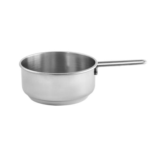 """Steel Pan rozsdamentes szószos / tejforraló serpenyő rozsdamentes fogantyúval 12 x 5 cm , 0,5 l """"My home"""""""