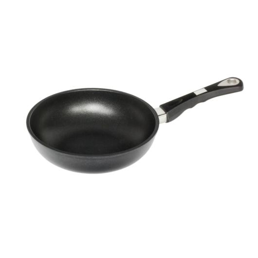 """AMT Gastroguss the """"World's Best Pan"""" serpenyő mély, kerekített  24 cm,  6 cm magas"""