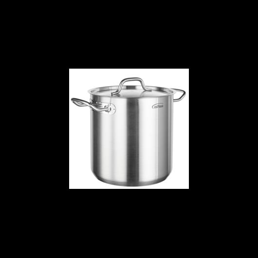 Inoxibar Professionalline rozsdamentes acél  fazék fedővel 50x50 cm, 98 L, 21%