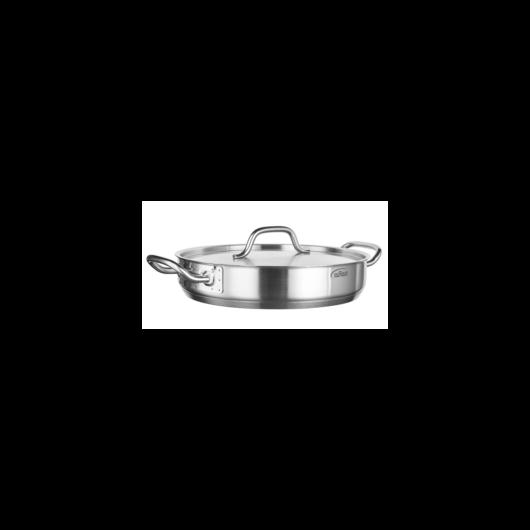 Inoxibar Professionalline rozsdamentes acél szeletsütő fedővel 40x8 cm, 10 L, 21%