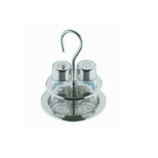 Montini  2 részes asztali só, borstartó készlet, rozsdamentes