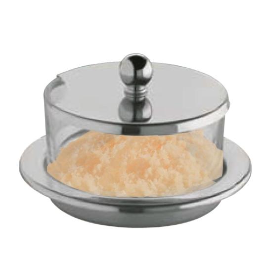Montini  cukor/reszeltsajttartó 9 x 5 cm, rozsdamentes