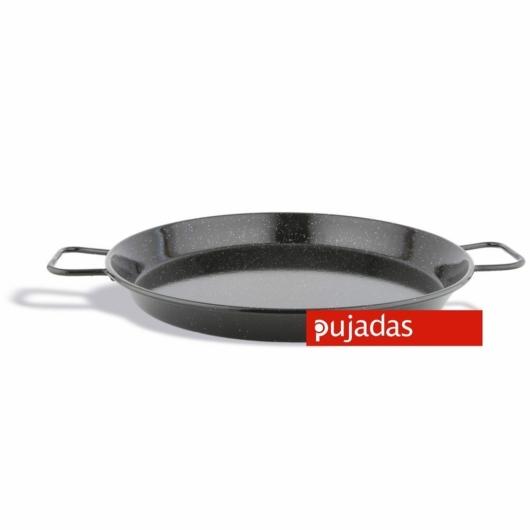 Pujadas Paella sütő zománcozott vas serpenyő 16cm