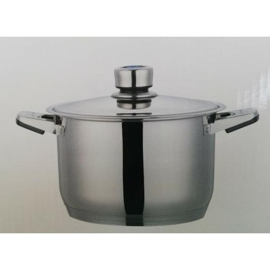 Silver Royal rozsdamentes edényszett 4 részes, termosztátos fedővel