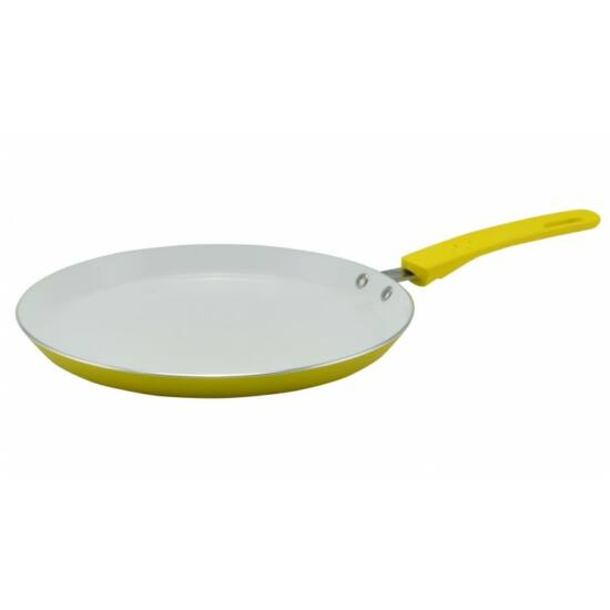 Perfect Home Palacsintasütő fa spatulával 26cm, 2mm