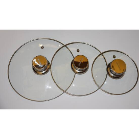 Berghome Line üveg fedő 18 cm