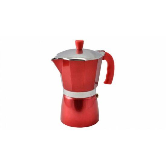Perfect Home kotyogós kávéfőző piros 6 személyes