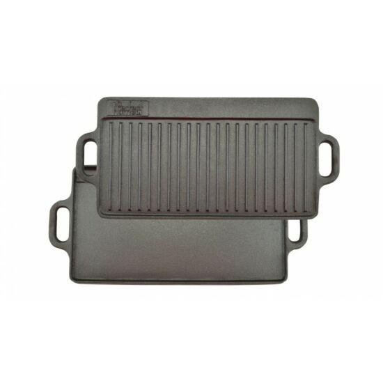 Perfect Home 12014 Öntöttvas grill lap 2oldalas