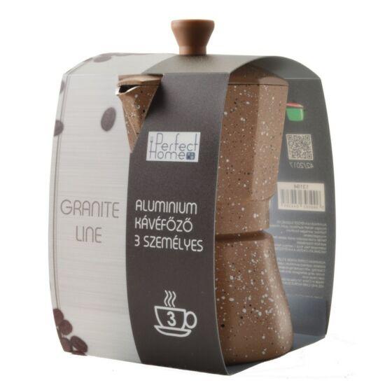 Perfect Home  Granite Line kotyogós kávéfőző 3 személyes
