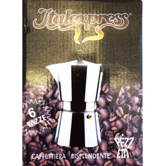 Harrys'son/ Italexpress kotyogós kávéfőző 6 személyes