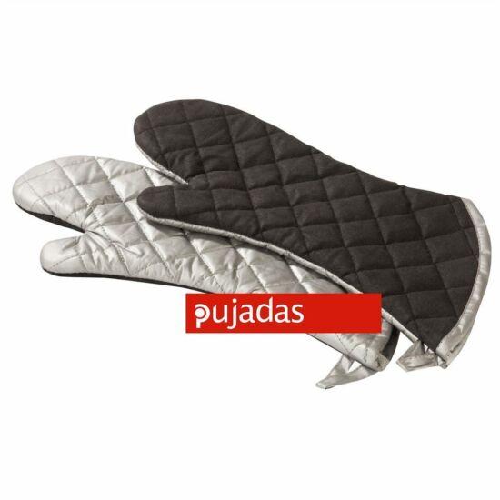 Pujadas Edény fogó kesztyű szilikon bevonattal 1 pár 38cm