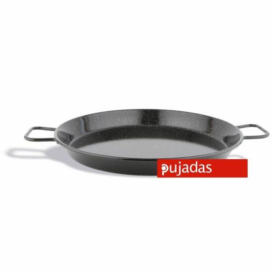 Pujadas Paella sütő zománcozott vas serpenyő 30cm