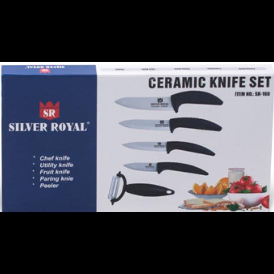 Silver Royal Kerámia kés készlet 5 részes