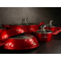 Kép 2/2 - Silver Royal Red  Metallic tapadásmentes edény szett 10 részes