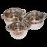 Kép 2/2 - Berghome Line 6 részes edény készlet rozsdamentes edény készlet, szett 16, 18, 20 cm