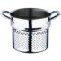 Kép 3/4 - Bergner Gourmet 18/10 rozsdamentes acél tésztafőző szett 3 darabos üvegfedővel 16X21 cm
